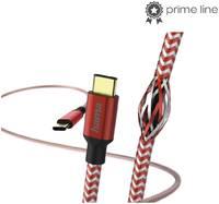 Кабель Hama 00183289 USB Type-C (m) USB Type-C (m) 1.5м красный