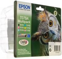 Картридж Epson T079A (C13T079A4A10) для Epson P50/PX660, набор из 6 картриджей