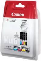 Картридж Canon CLI-451C/M/Y/Bk (6524B004) набор для Canon iP7240/MG, /пурпурный