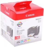 Картридж Canon PGI-1400BK/C/M/Y XL (9185B004) набор для Canon Maxify МВ2040/2340, //пурпурный