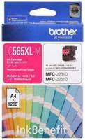 Картридж Brother LC565XLM для Brother MFC-J2510, пурпурный