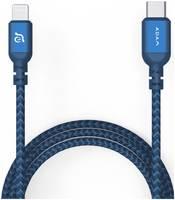 Кабель ADAM Elements PeAk II C120B USB-C - Lightning 1.2м (синий)