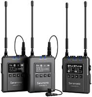 Радиосистема Saramonic UwMic9s Kit2 (RX9S+TX9S+TX9S) с 2 передатчиками и 1 приемником NEW
