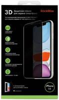 Защитное стекло RockMax Privacy для Apple iPhone 11/XR черный