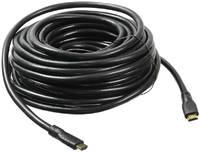 Кабель Buro HDMI (m) - HDMI (m) ver 2.0 20м (черный)