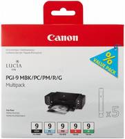 Набор картриджей Canon PGI-9 MBK/PC/PM/R/G (многоцветный)