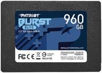 Внутренний SSD PATRIOT PBE960GS25SSDR Burst Elite 960Gb
