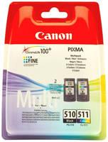 Картридж Canon PG-510/CL-511 Multipack (, цветной)