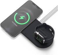 Силиконовая подставка elago MS Duo для зарядного устройства MagSafe и Apple Watch