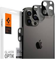 Защитное стекло для камеры Spigen GLAS.tR Optik для iPhone 12 Pro (комплект — 2 шт.)