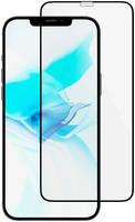 Защитное стекло uBear Nano Antibacterial для Apple iPhone 12/12 Pro, чёрная рамка