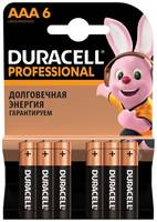Duracell Professional AAA LR03/MN2400 6шт.