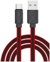 Кабель USB Type-C TFN Fashion, Black