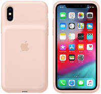 Чехол-аккумулятор Apple iPhone XS SmBattery Case Pink Sand