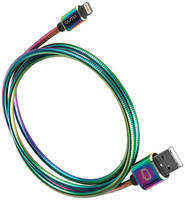 Кабель для iPod, iPhone, iPad Qumo Rainbow USB-Apple 8 pin 1.2м. MFI