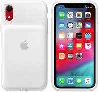 Чехол-аккумулятор Apple iPhone XR Smart Battery Case White