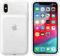Чехол-аккумулятор Apple iPhone XS Smart Battery Case White