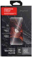 Защитное стекло InterStep iPhone 11 Pro Max/Xs Max, 3D, черная рамка