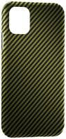 Чехол LYAMBDA ANNET MANCINI Сarbon iPhone 11 Pro Max GreenMatte