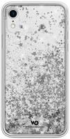 Чехол Diamonds Sparkle iPhone XR серебряные звезды