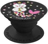 Кольцо-держатель для телефона Popsockets Unicorns I#m a Purrmaid (800164)