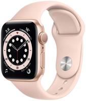 Смарт-часы Apple Watch S6 40mm Aluminum Case with Sand Sport Band (MG123RU/A)