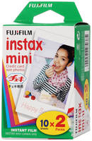 Fujifilm Colorfilm Instax Mini Glossy 10/2PK