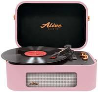Виниловый проигрыватель Alive Audio STORIES Wine Bluetooth (STR-06-RW)