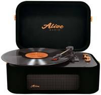 Виниловый проигрыватель Alive Audio STORIES Glam Noir Bluetooth (STR-06-GN)