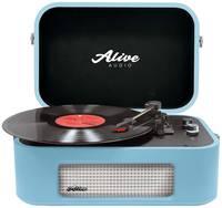 Виниловый проигрыватель Alive Audio STORIES Turquoise Bluetooth (STR-06-TS)