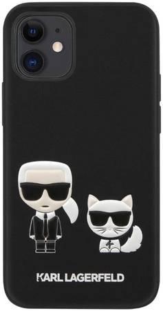 Чехол для смартфона Karl Lagerfeld Bodies PU для iPhone 12 Mini