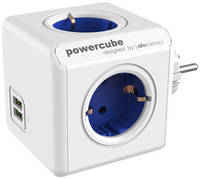 Переходник Allocacoc PowerCube Original USB синий (1202BL)