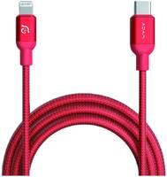 Кабель Adam Elements PeAk II USB-C-Lightning, 1.2 м, красный