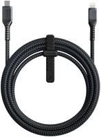 Кабель Nomad USB Type-C - Lightning NM01A11000, 3 м, черный