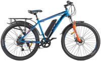 Электровелосипед Eltreco XT 800 New сине-оранжевый
