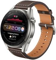 Смарт-часы Huawei Watch 3 Pro Classic LTE 48 мм кожаный ремешок
