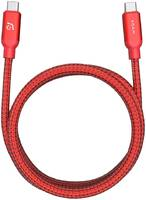 Кабель Adam Elements CASA C200 USB-C-USB-C, 2 м, красный