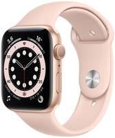 Смарт-часы Apple Watch Series 6 44 мм золотой, спортивный ремешок