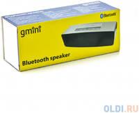 Колонка Bluetooth Gmini GM-BTS-M21, 3Вт х 2, серебристая