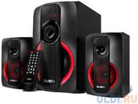 Колонки Sven MS-304 чёрные (RMS: 20 Вт + 2x10 Вт, FM, USB/SD, ПДУ, Bluetooth)