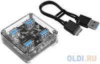 Концентратор USB Type A Orico MH4U-U3 4 х USB 3.0