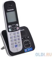 Телефон DECT Panasonic KX-TG6821RUB автоответчик АОН, Caller ID 50, Спикерфон, Эко-режим, Радионяня