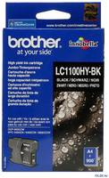 Картридж Brother LC1100HYBK 900стр