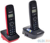 Телефон DECT Panasonic KX-TG1612RU3 АОН, Caller ID 50, 12 мелодий, + дополнительная трубка