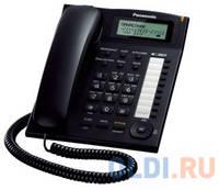 Телефон Panasonic KX-TS2388RUB АОН, Caller ID, ЖК-Дисплей, Flash, Recall, Pause, Память 50, Спикерфон, Wall mt.