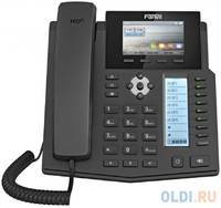 Телефон IP Fanvil X5S 6 линий 2x10/100/1000Mbps цветной LCD SIP PoE