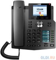 Телефон IP Fanvil X4G 4 линии 2x10/100/1000Mbps цветной LCD PoE