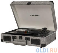 Виниловый проигрыватель CROSLEY CRUISER DELUXE [CR8005D-HB] c Bluetooth