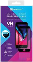 MEDIAGADGET MGFCSGM01FGBK Защитное стекло 2.5D FULL COVER GLASS для Samsung Galaxy M01 (пкл,черная рамка)