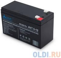 SVC Батарея AV7.5-12 (12В/7.5Ач) AGM, Клемма T2(F2)